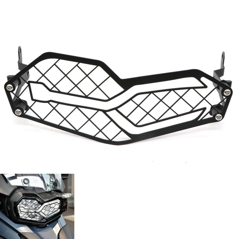 Rejilla de Malla de Acero Inoxidable para Faros Delanteros de Motocicleta para BMW F750GS F850GS 18-19
