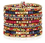 SPUNKYsoul Cuff Bracelets for Women Collection (Navy/Red/Box)