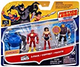 DC Justice League Action Mighty Minis Wonder Woman, The Flash, & Mongul Mini Figures, 3 Pack