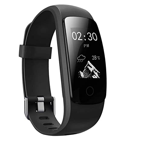 Image result for MICROTELLA Fitness Tracker Waterproof, Smart Activity Watch, Smart Band with Step Counter, Calorie Counter Watch, GPS Band, Fitness Tracker with Heart Rate Monitor, Pedometer for Android and iOS