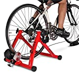 Deuter Bike Trainer Stationary Magnetic Exercise Bicycle Stand for Indoor Riding Portable with Noise Reduction Technology