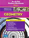All-in-one Student Workbook : Version A (Prentice Hall Mathematics, Geometry)