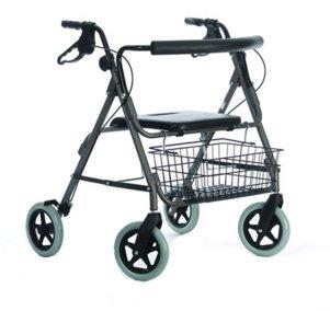 Stabiler Rollator für schwere Menschen