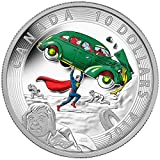 2014 Mint Proof 1/2 Oz. Fine Silver Coin - Iconic SupermanTM Comic Book Covers: Action Comics #1 From 1938 - Mintage: 10,000 $10 Mint State