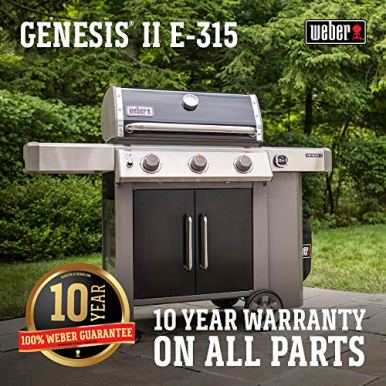 Weber-61015001-Genesis-II-E-315-3-Burner-Liquid-Propane-Grill-Black