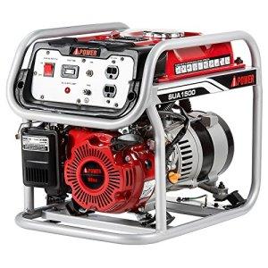 Ai Power SUA1500 Gasoline Portable Generator, 1500W