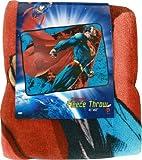 "Superman Fleece Throw Blanket 45"" x60"""