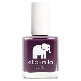 ella+mila Nail Polish, ELITE Collection - Little Plum Dress