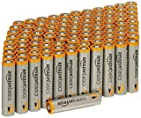 AmazonBasics AAA 1.5 Volt Performance Alkaline Batteries - Pack of 100