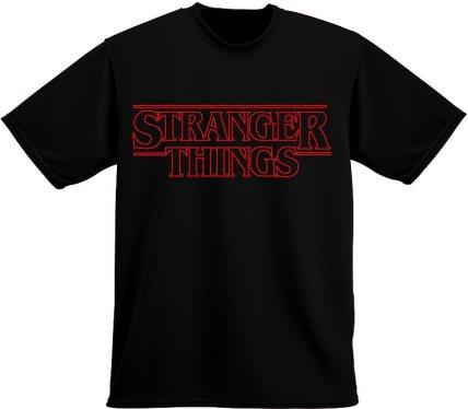 Strange Things Clothing Netflix Stranger Things Inspired T-Shirt (Medium, Black)