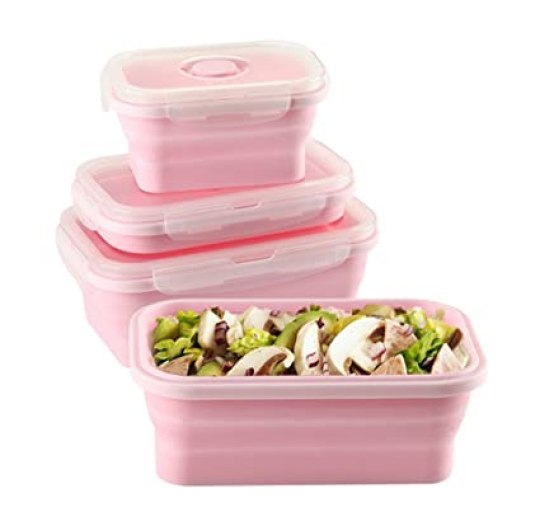 Image result for collapsible silicone food storage containers
