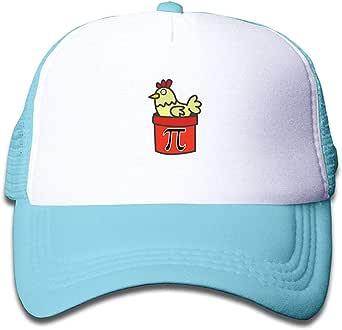 Voxpkrs Chicken Pot Pie Pi Day Sun Mesh Back Cap Trucker