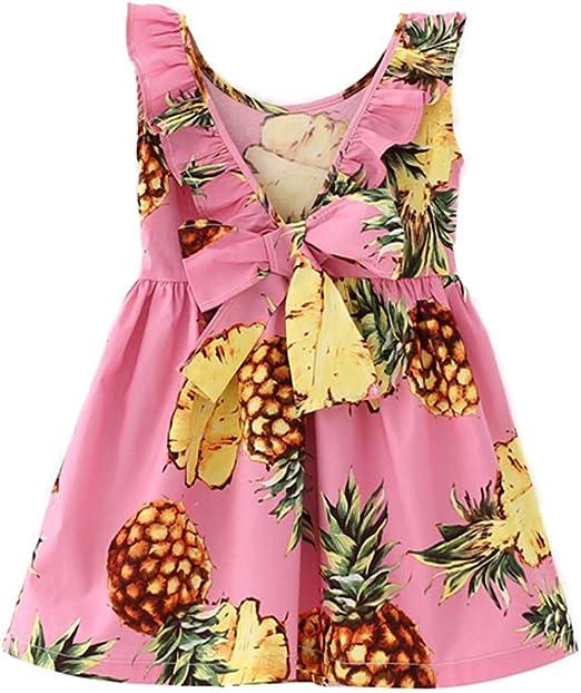 Pineapple Dress Toddler Girl