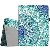 Fintie iPad 4/3/2 Case - Slim Fit Folio Stand Case Smart Protective Cover Auto Sleep/Wake Feature for Apple iPad 2, iPad 3 & iPad 4th Generation with Retina Display - (Z-Emerald Illusions)
