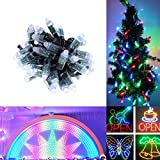 Alarmpore (TM) 500-Pack 500pcs Black Wire WS2811 LED Pixel Digital Full Color Character String Led Light Individual Addressable 12mm Round RGB Light P68 Waterproof 5V (5V Round)