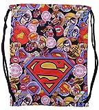 DC Comics Superman Carrysack Hero Cinch Bag Sack Tote
