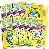 Nickelodeon Spongebob Squarepants Party Favors Pack ~ Bundle of 12 Spongebob Squarepants Play Packs with Stickers, Coloring Books, Crayons with Bonus Spongebob Stickers (Spongebob Party Supplies)