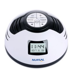 NURSAL White Noise Machine with 8 Relaxing Sounds for Babies