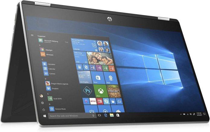 Amazon Com New Hp Pavilion 2 In 1 15 6 Hd Touchscreen Laptop Intel I5 8265u 8gb Ram 512gb Ssd Bluetooth Windows 10 Computers Accessories