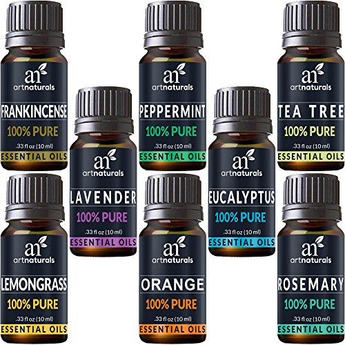 8 Essential Oils Set