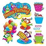 TREND enterprises, Inc. T-8366 Owl-Stars! Birthday Bulletin Board Set