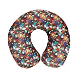 Harry Potter Hogwarts All Over Print Neck Pillow