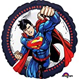 "1 x Superman Standard 18""/45 cm Foil Balloon"