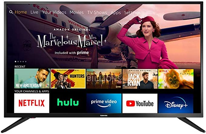 Father's Day In The Same Week As Prime Day!-Toshiba 32LF221U21 32-inch Smart HD 720p TV - Fire TV, Released 2020