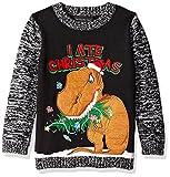 Blizzard Bay Boys' I Ate Christmas, Black/Brown, 7