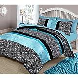 your zone teal animal bedding comforter set