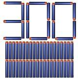 Tomons Refill Darts 300PCS Bullets Ammo Pack for Nerf N-Strike Elite Series - Blue