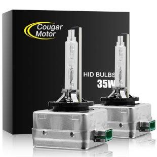 CougarMotor HID Xenon Headlight Replacement Bulbs
