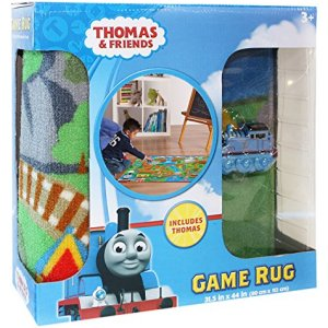 Gertmenian Thomas and Friends Rug HD Kids Play Mat Toy Train, Multi-Color, 32″ x 44″, Small-One Car 61yIka4GhCL