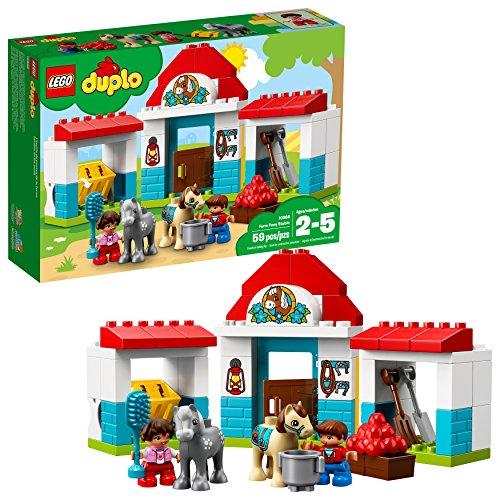 LEGO DUPLO Town Farm Pony Stable 10868 Building Blocks (59 Piece)