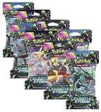 Pokémon na Pokemon Celestial Storm Factory Sealed Sleeved New Booster Pack
