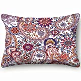 best bags Ethnic Traditional Style Boho Vintage Home Decor Wedding Gift Engagement Present Housewarming Gift Cushion Cover 20X30 Inch