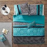 Teen Comforter 4 Piece Set (Comforter, Sham and Decorative Pillow) (Full / Queen)