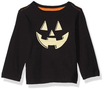 Crazy 8 Boys' Toddler Li'l Long-Sleeve Graphic Tee, Black, 2T