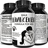 California Products Male Enhancement Pills Natural Enhancer with Herbal Maca Root Powder Tongkat Ali Extract Zinc and L-Arginine Pure Libido Booster for Men Increase Stamina Sex Drive 60 Tablets