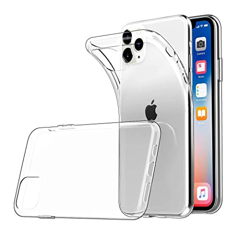 iPhone 11 Pro ケース 5.8インチ対応 耐衝撃 Simpeak アイフォン 11 Pro クリア 透明 保護カバー ソフト高品質TPU 超薄型 超軽量 指紋防止 ワイヤレス充電サポート