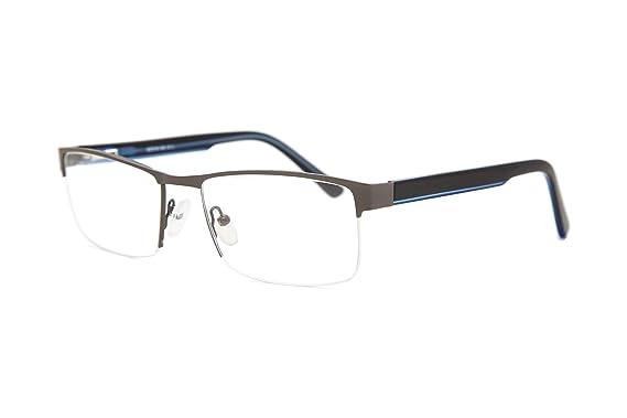 7aedbd41f7 Smart Collection Abbott Men S Prescription Eyeglass Frames Semi