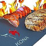 Kona Best BBQ Grill Mat - Heavy Duty 600 Degree Non-Stick...