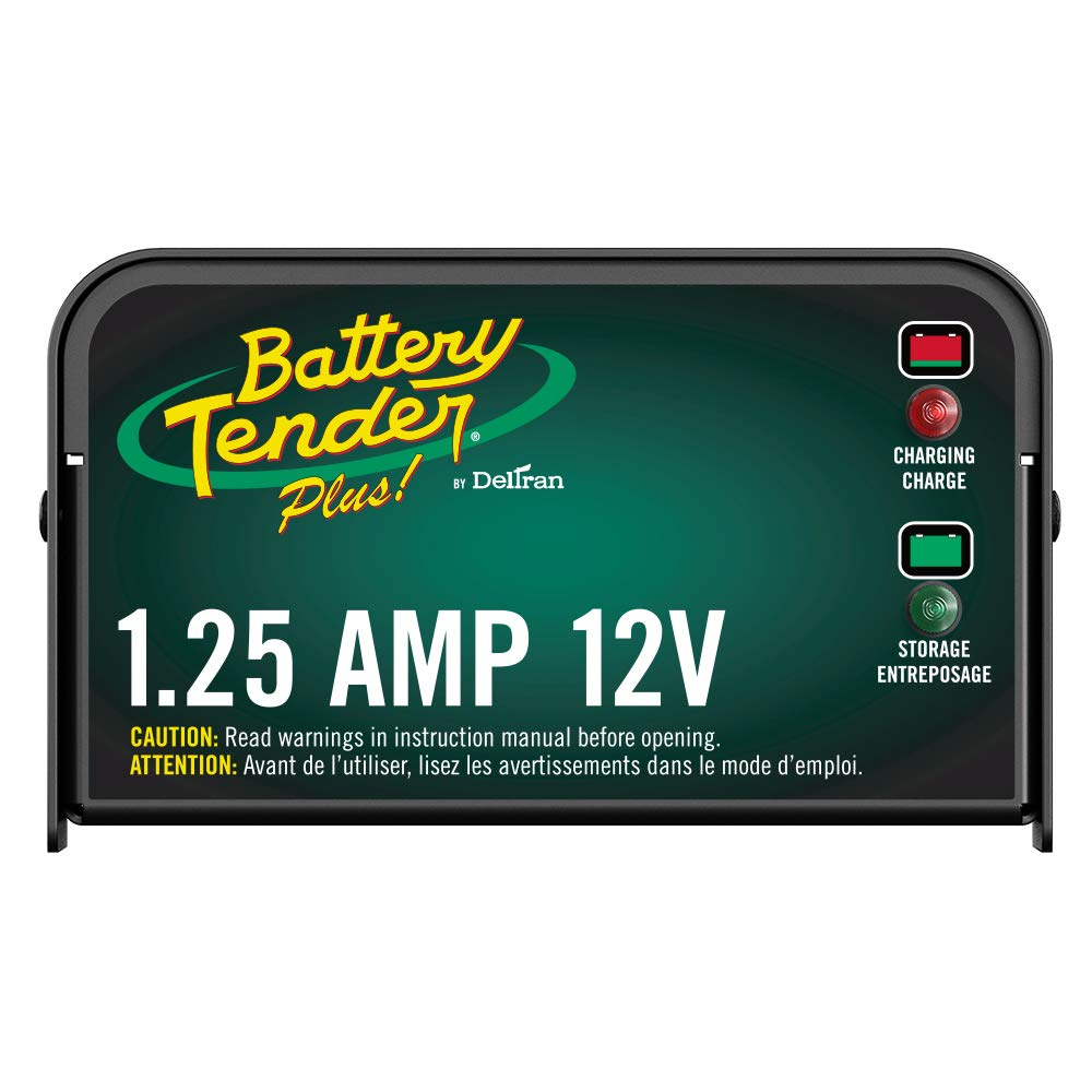 best ATV battery chargers Battery Tender Plus 12V, 1.25A Battery Charger
