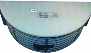 Heavy-duty well cover- Amerimax Translucent Well Cover