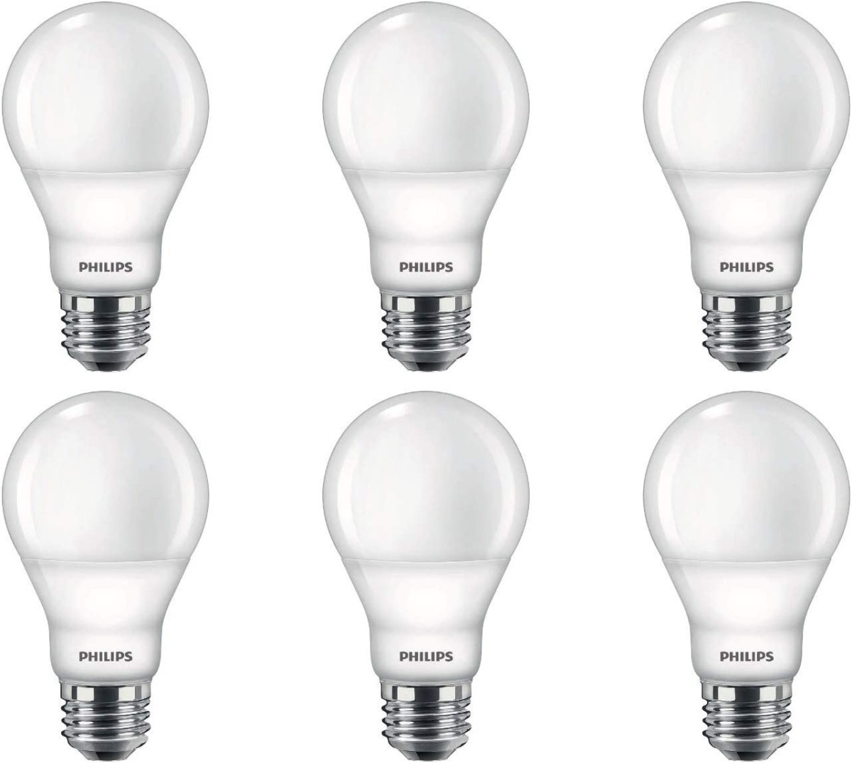Philips LED Flicker-Free Frosted A19 Light Bulb