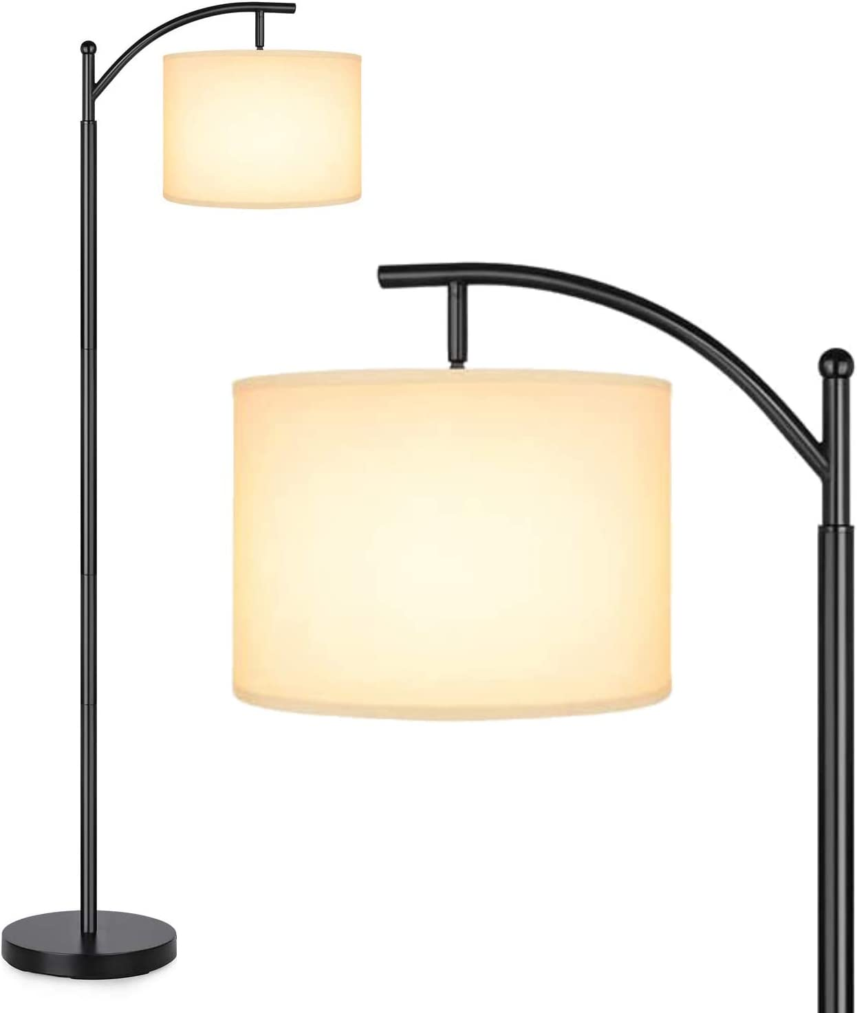 Amazon Com Floor Lamp For Reading By Lightaccents Hanging Reading Lamp Standing Reading Light Bronze Home Improvement