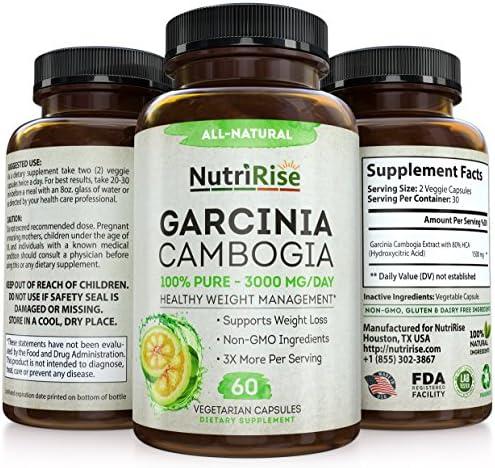 Garcinia Cambogia 3000 MG Supplement - 60 Capsules 3
