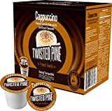 Twisted Pine French Vanilla Cappuccino Single Serve for K Cup Brewer - 40ct