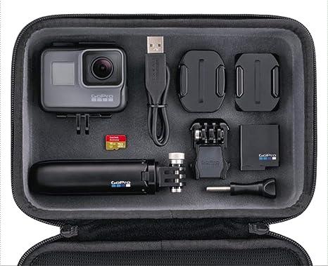 Gopro Hero5 4k Actionkamera Bundle Inklusive Casey Shorty Stativ 16 Gb Speicherkarte