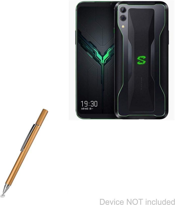 Amazon Com Xiaomi Black Shark 2 Pro Stylus Pen Boxwave Finetouch Capacitive Stylus Super Precise Stylus Pen For Xiaomi Black Shark 2 Pro Champagne Gold Electronics
